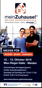Flyer für Messe in 92637 Weiden
