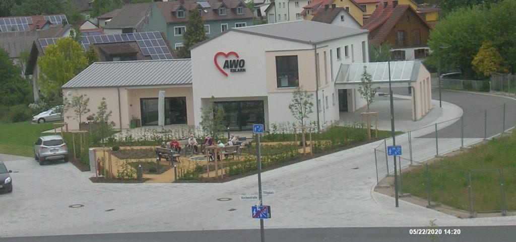 """Blick auf den """"Hofgarten"""", am 22.05.2020, gegen ca. 14.20 h"""