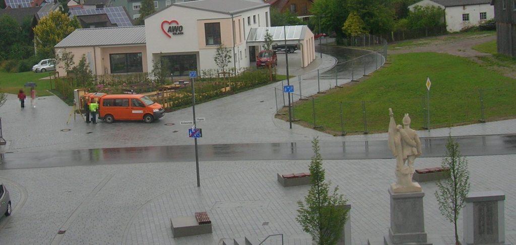 Gestern oder vorgestern, war das Vermessungsamt wieder mal am Tillyplatz.