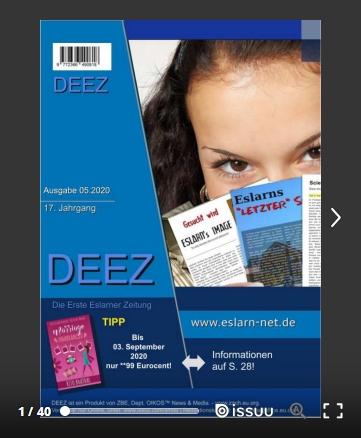 Cover der DEEZ-Ausgabe 05.2020DE